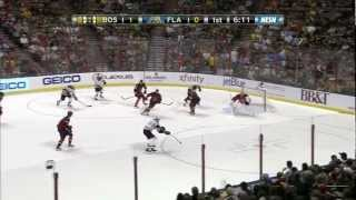 Zdeno Chara scores an incredible spin-o-rama goal 2/24/13