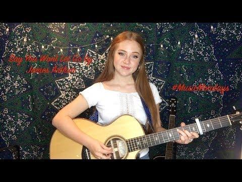 Say You Wont Let Go - James Arthur (Cover By Amanda Nolan)