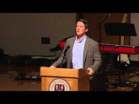 Taylor University Chapel - 11-09-15 - Dr. Drew Moser
