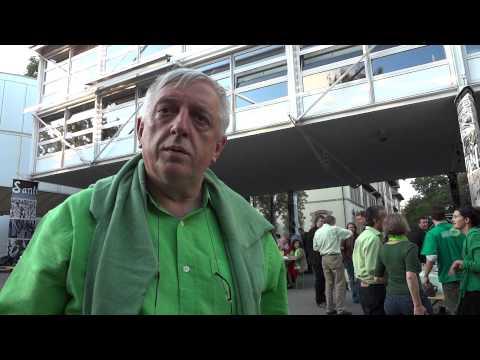 Ueli Leuenberger, Président des Verts suisses le 27.08.2011