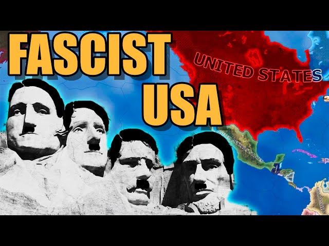 USA goes Fascist in Hearts of Iron 4