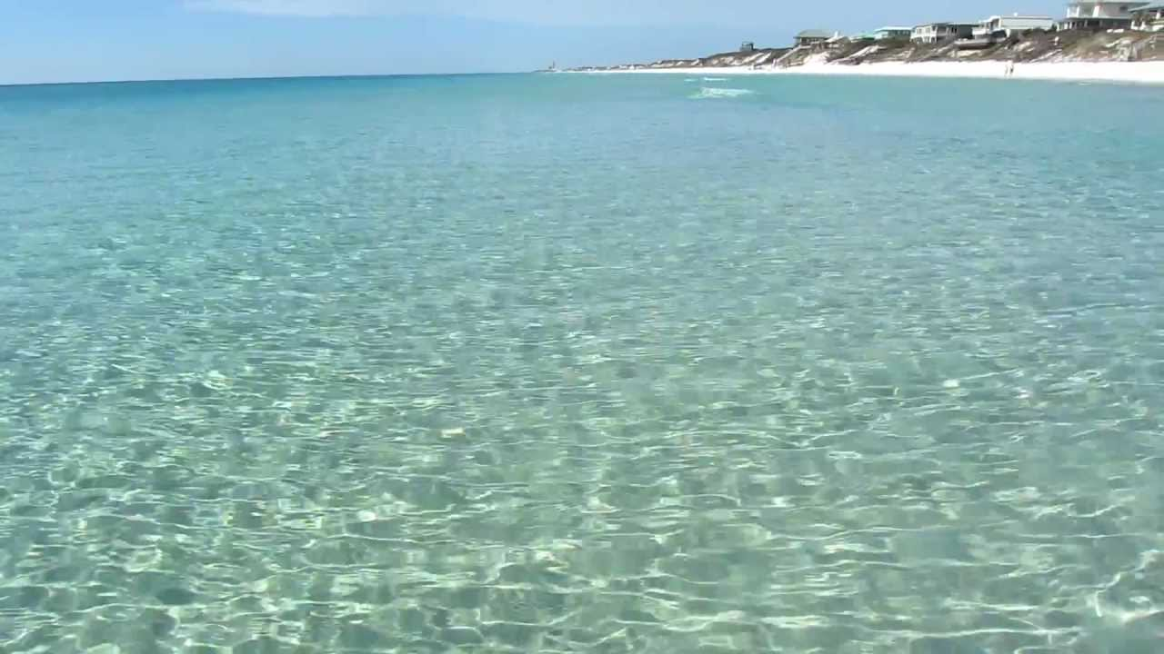 Hd Beautiful Clear Water And White Sandy Beach Off 30a In Walton County Florida You