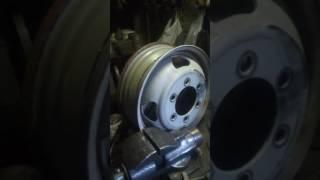 Раширение диска на ГАЗ 3302