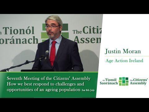 Justin Moran, Pensions, Income and Retirement: What action is required by Government?