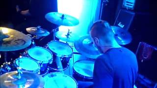 Crimson Sun - Clockwork Heart Live Drumcam (Virgin Oil 15.8.2015)