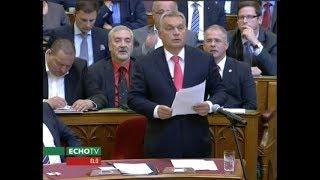 Orbán Viktor viszonválasza - Echo Tv