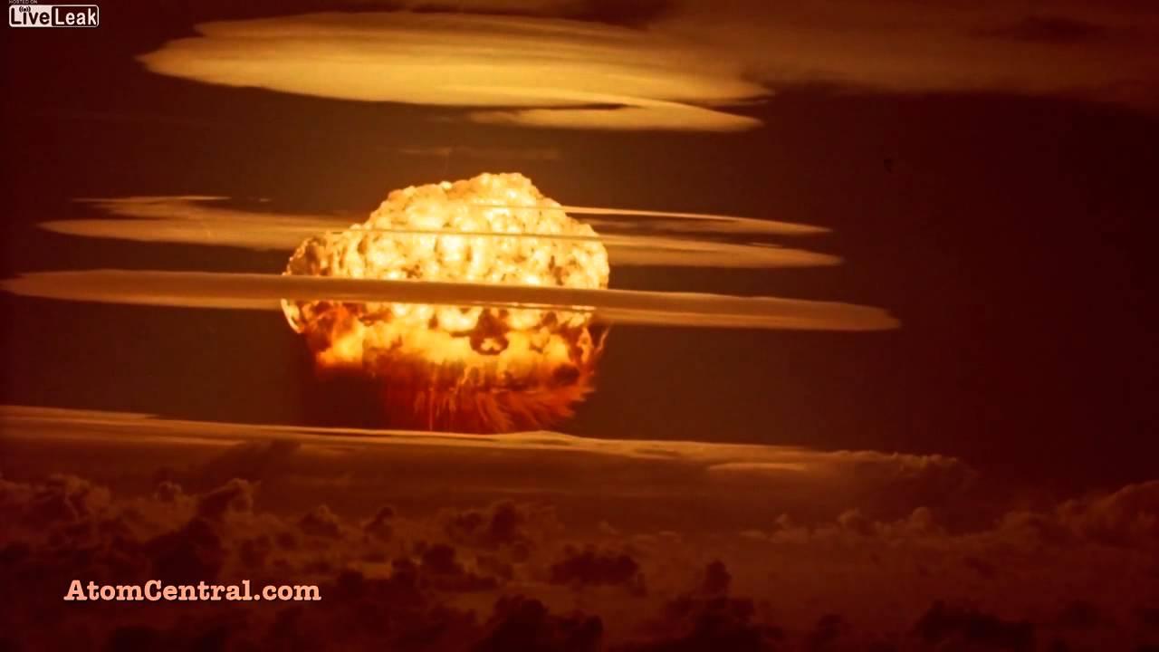 Explosion nucleaire en haute d finition youtube for Haute definition