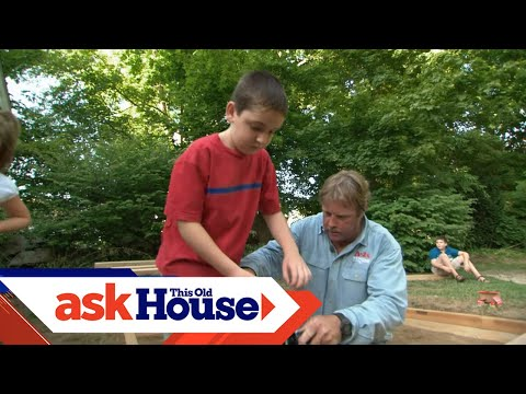 How To Build A Sandbox - Projects For Kids
