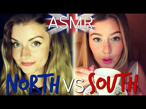 ASMR *Collab* 🇬🇧  Northern Vs Southern England - Role Play 🇬🇧