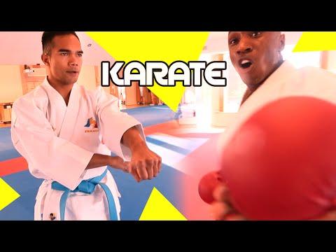 Karaté : Préparation de l'équipe de France avant les Championnats du Monde