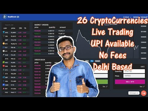 How To Buy Trade Bitcoin And Other 25 CryptoCurrencies In Indian Rupees At BuyBitcoin Exchange 2018