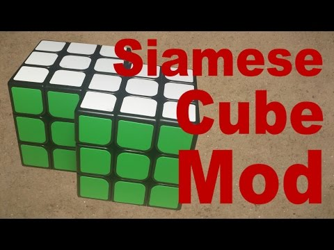 How to Make a 3x3 Siamese Cube Mod