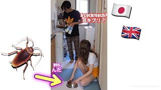 Pretending To Catch A Cockroach In Front Of My Boyfriend!   AMWF International Couple   #shorts