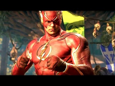 INJUSTICE 2: All FLASH Intros (Dialogue & Character Banter) 1080p HD