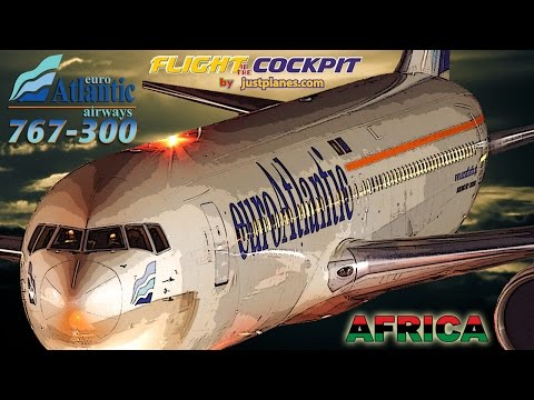 Piloting the Boeing 767 to Africa