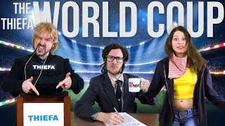 The World Coup: THIEFA vs Brazil [RAP NEWS 26]
