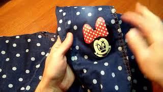 Распаковка и Обзор Детской Одежды с Aliexpress,джинсы для девочки