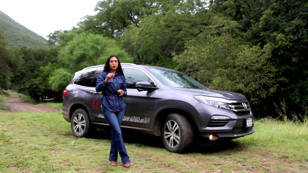 Honda Pilot 2017 A Prueba Youtube