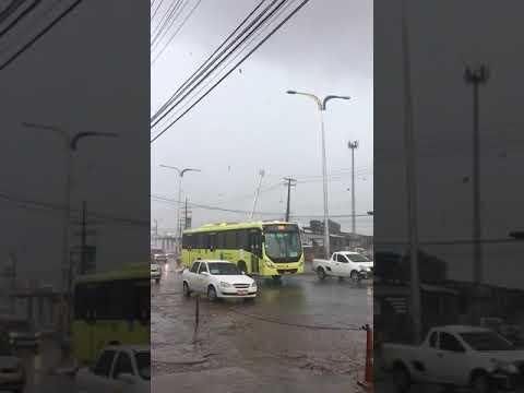 ASSUSTADOR : Forte Ventania Derruba Torre, Postes e Causa Grandes Prejuízos em São Luís