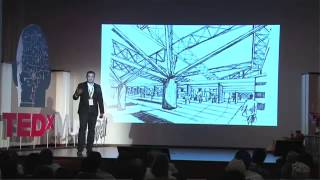Simple ideas to innovative buildings: Alok Shetty at TEDxMuscat 2013