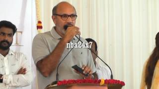 Request Media to review in a Dignified Way : Actor Satyaraj | Neruppu Da Audio Launch | nba 24x7
