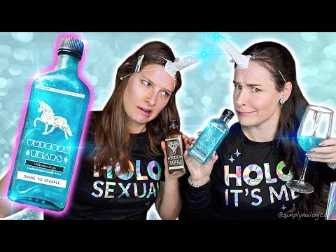 Thumbnail: Testing RARE Unicorn Tears drink from across the world! | Sister Unicorn Party