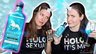 Download Testing RARE Unicorn Tears drink from across the world! | Sister Unicorn Party Mp3 and Videos