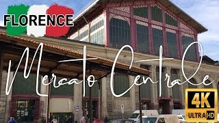 Mercato Centrale  Florence Italy - Central Market Florence
