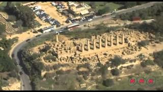 Ancient Greek city of Akragas (Agrigento) Sicily