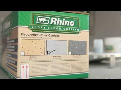 Rhino Linings Epoxy Garage Floor Coating