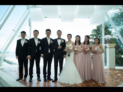 Wedding Ceremony and Bridal Party Entrance