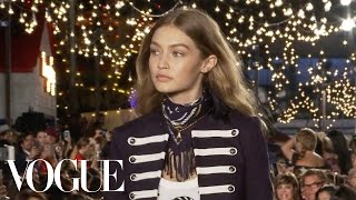 Gigi Hadid on Bringing Her Sporty and Hippie Style to Tommy Hilfiger | Vogue