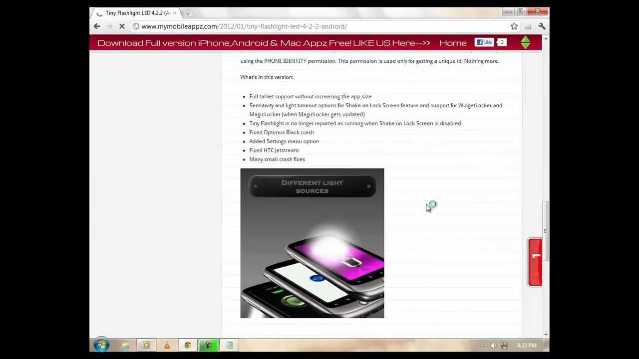 flashlight app for mac