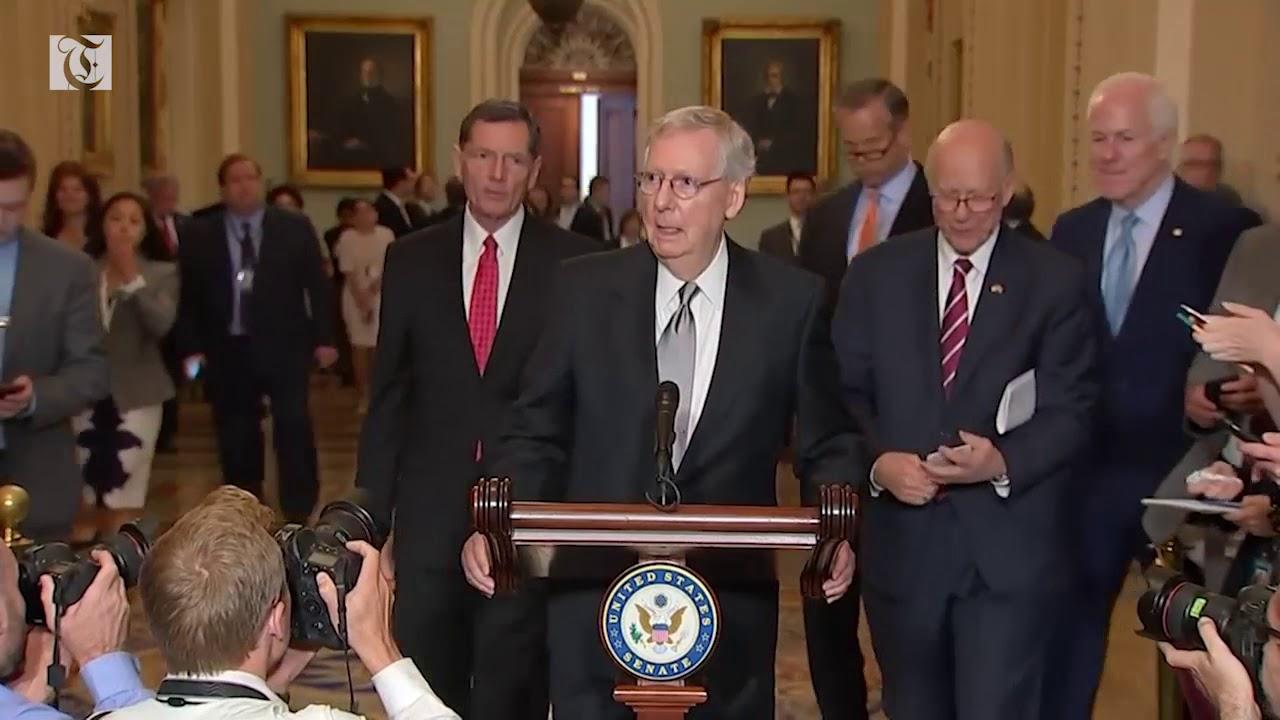 Senate kicks off battle over Trump's court pick