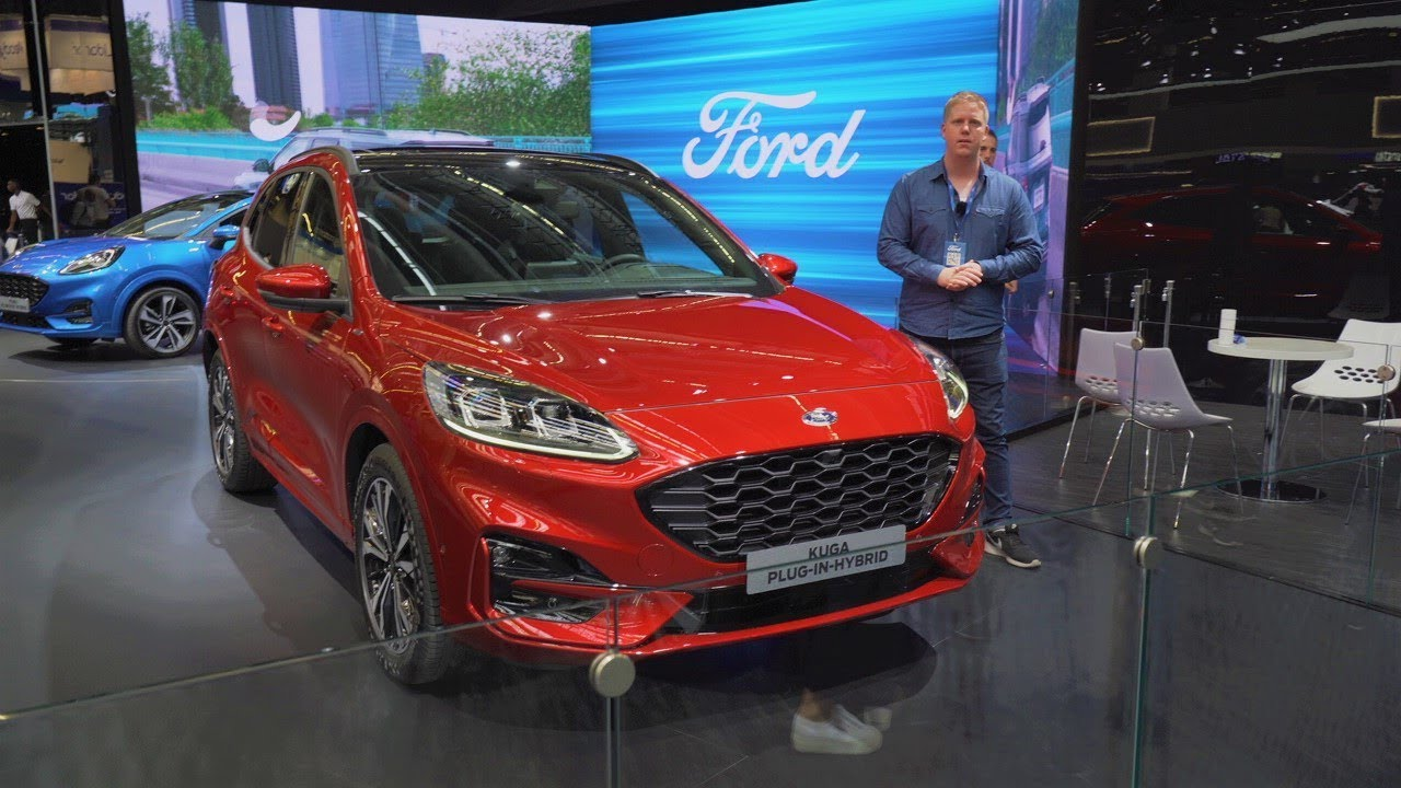 2020 Ford Kuga St Line Review Iaa 2019 Youtube