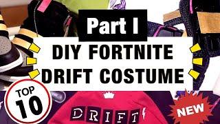 DIY FORTNITE DRIFT COSTUME !! *DRIFT SKIN COSPLAY* PART I🏕 #FortniteDrift