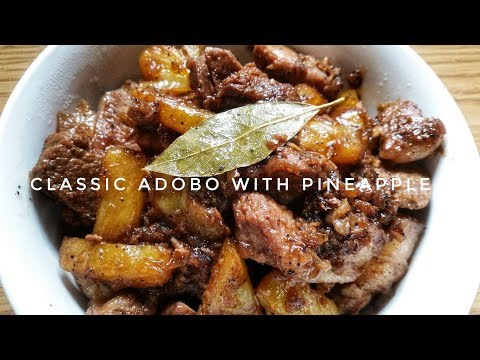 HOW TO COOK CLASSIC ADOBO WITH PINEAPPLE | Kat's Empire |