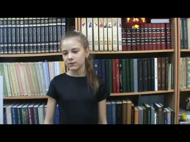 Изображение предпросмотра прочтения – ВалерияИщенко читает произведение «Зима недаром злится» Ф.И.Тютчева