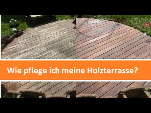 holzterrasse richtig pflegen youtube. Black Bedroom Furniture Sets. Home Design Ideas