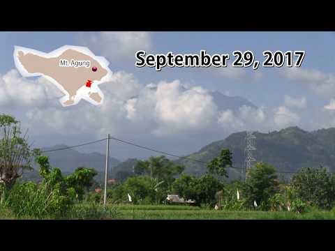 [Bali] Mt. Agung Today : September 29, 2017 / Gunung Agung hari ini