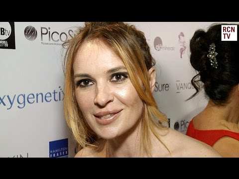 Kierston Wareing Interview - My Face My Body Beauty Awards