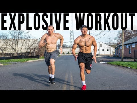 Jump Higher Run Faster Become Explosive | Athletic Workout