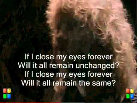 Close My Eyes Forever - Lita Ford with Ozzy Osbourne (Lyrics On Screen)