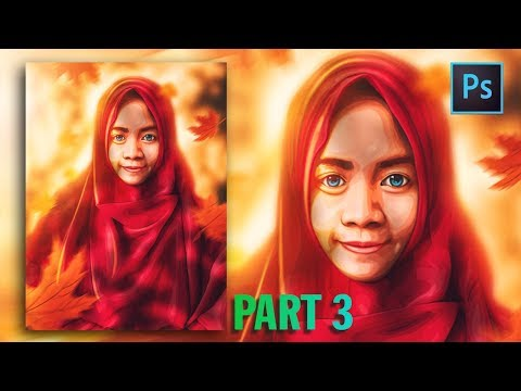 [Photoshop Tutorial] HOW TO CREATE VECTOR/VEXEL HIJAB IN PHOTOSHOP [PART 3- LIP] thumbnail
