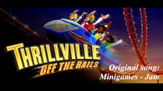 Thrillville Off The Rails Soundtrack - Minigames - Jam