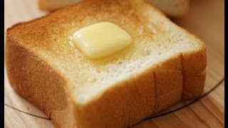 Japanese white bread recipe  (English subtitle ver)