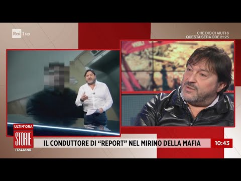 """Sigfrido Ranucci: """"La mafia voleva pagare per uccidermi"""" - Storie Italiane 07/01/2021"""