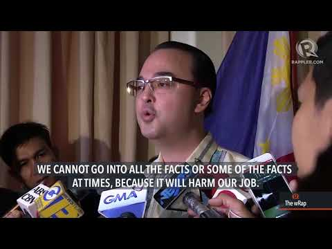 Cayetano conceals facts about China ships near Sandy Cay
