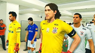 CORINTHIANS VS CRUZEIRO - FINAL DA COPA DO BRASIL - PES 2018