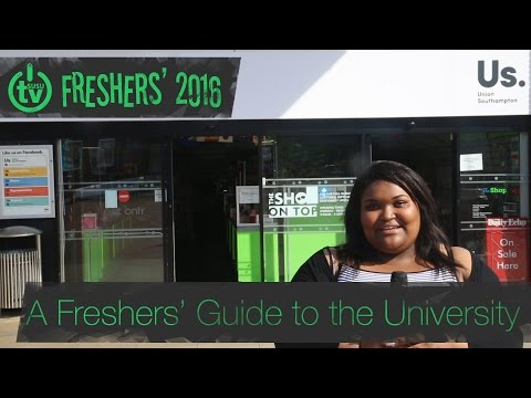 Freshers' 2016 | A Freshers' Guide to the University of Southampton